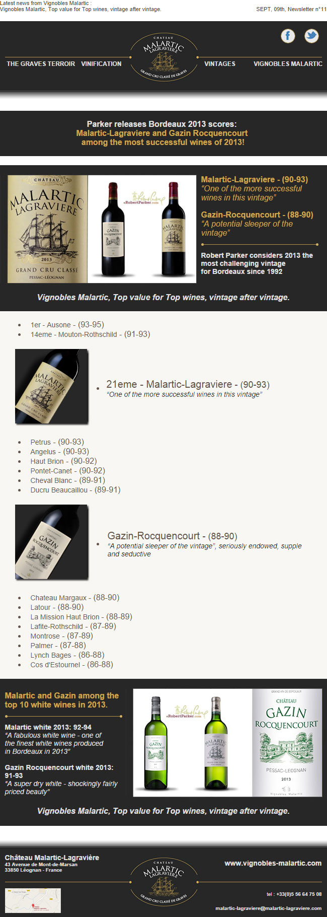 successful 2013 wines