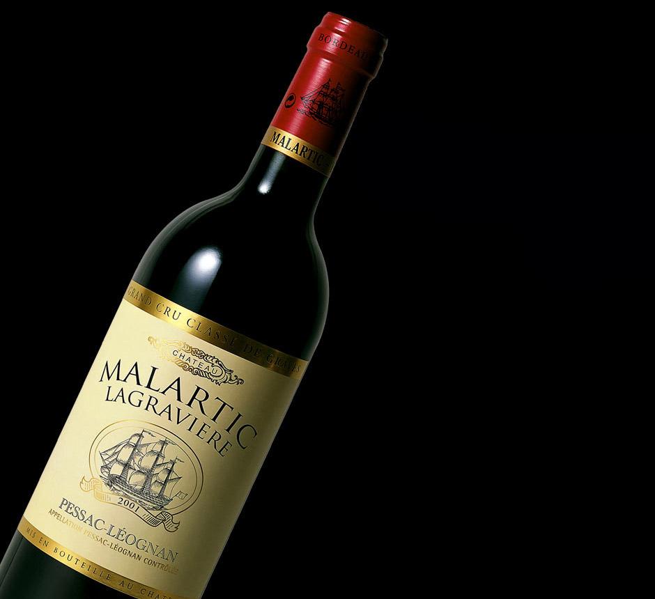 Malartic-Lagravière Rouge 2001