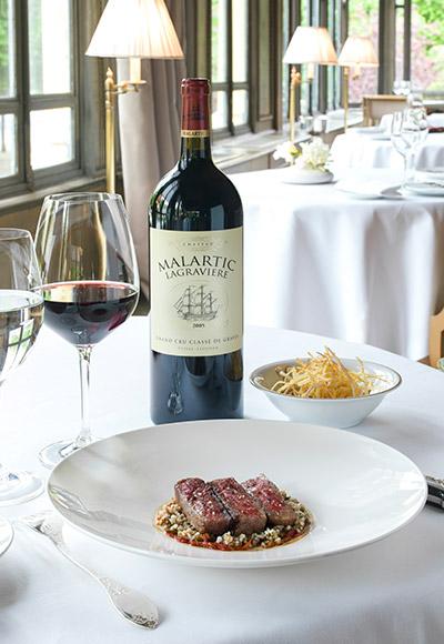 Yannick Alleno And Chateau Malartic Lagraviere A Perfect Match