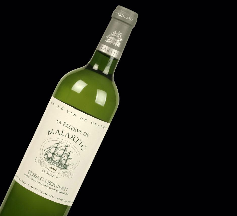 La Réserve Malartic-Lagravière Blanc 2007